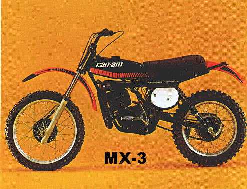 1977 -MX3- Black Widow