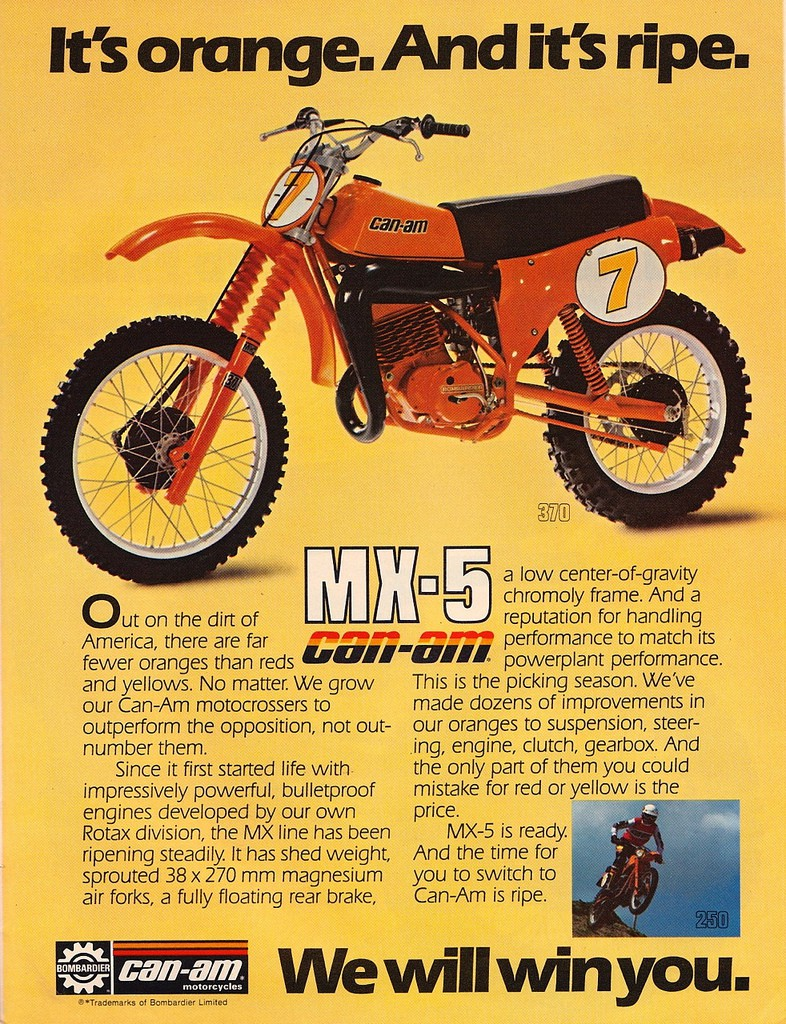 1979 can-am mx5 370 j