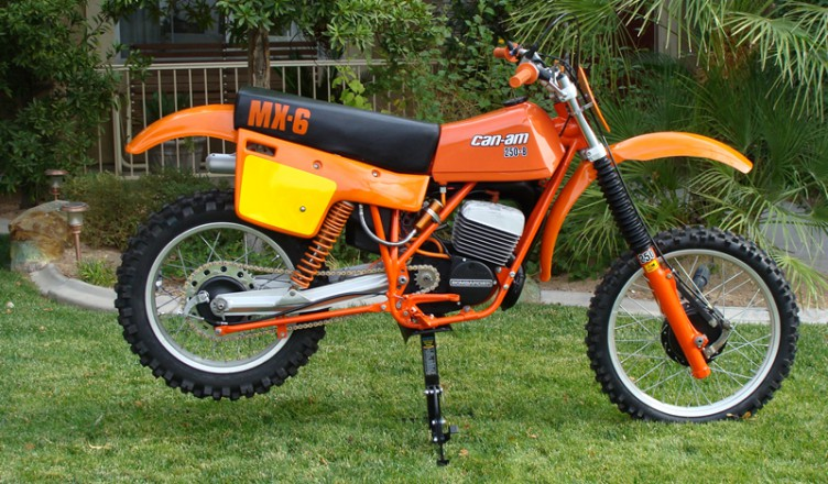1981 can-am mx6 250 bs