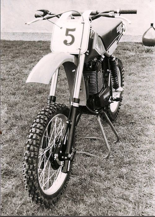 1982 Can-am 500 sonic factory works bike euro model