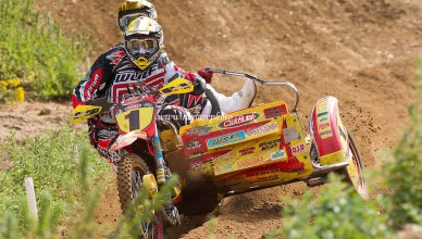 Stuart Brown / Josh Chamberlain WSP Zabel 700                             - MX British Sidecar Cross Championships, Round 4, Cadders Hill, Lyng, Norfolk  - 27/07/14  - MANDATORY CREDIT: Ray Lawrence Photography /www.raylawphoto.co.uk - Self billing applies where appropriate - 07774 985144  - contact @ raylph@virginmedia.com - NO UNPAID USE