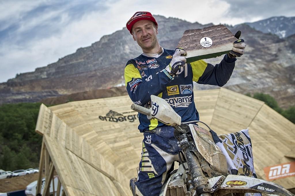 Грэм Джарвис - победа в Red Bull Hare Scramble, Австрия