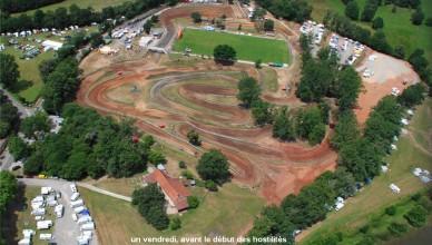 vue aerienne circuit Lacaplle