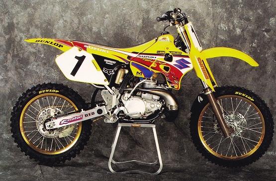 1996 SUZUKI RM250-8